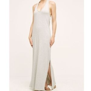 Anthropologie Saturday Sunday Grey Halter Maxi